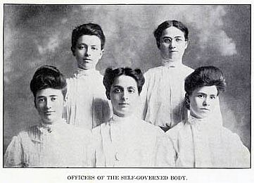 1905 first SGA officers