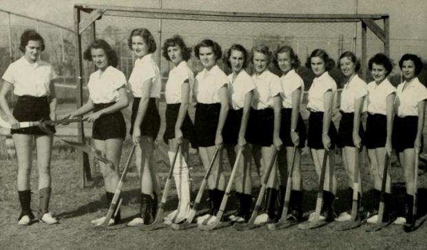 field hocky team - '49-'50