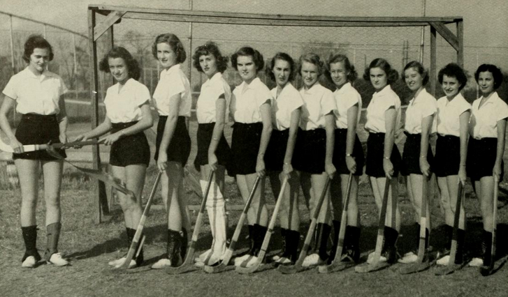 field hocky team - '49-'50