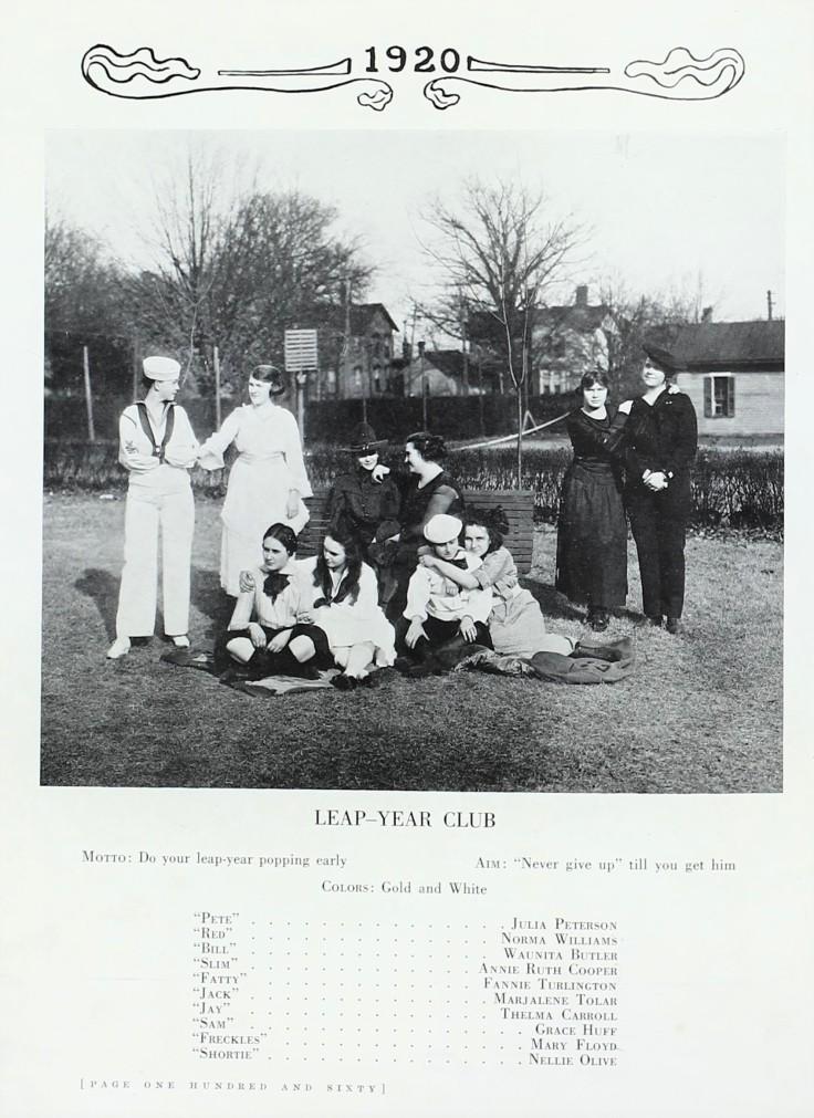 1920 OakLeaves LeapYearClub